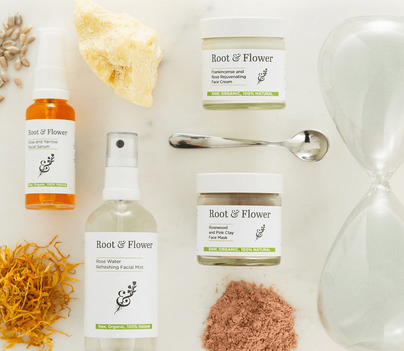 Root and Flower skincare